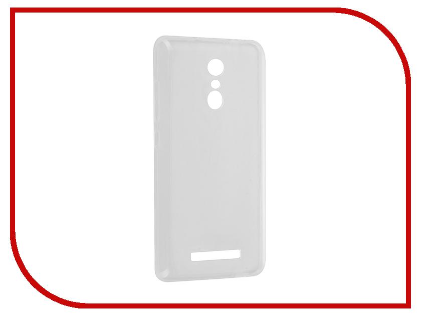 Аксессуар Чехол Xiaomi Redmi Note 3 Svekla Transparent SV-XIREDN3-WH<br>