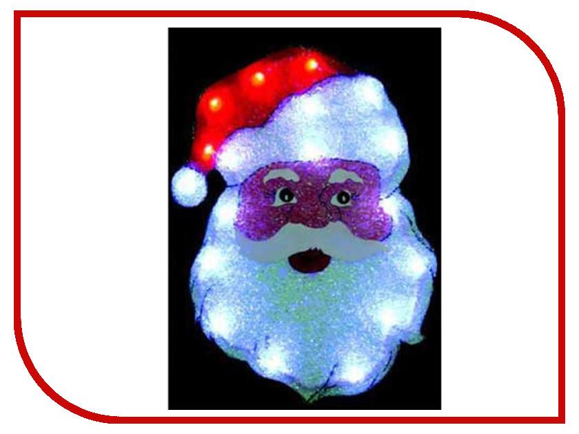 Световое панно SnowHouse Дед Мороз 40x29cm PKQE07SW08/1