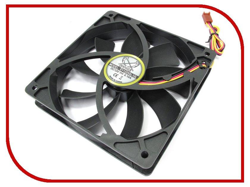 Вентилятор Scythe Slip Stream 120mm 800rpm SY1225SL12L вентилятор aerocool shark fan white edition 120mm en55505