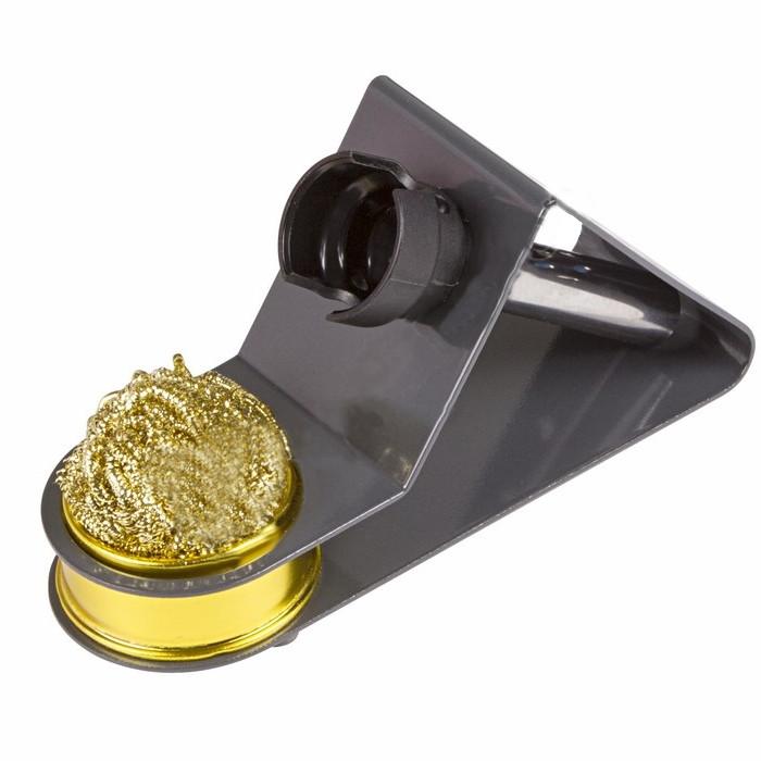 Подставка под паяльник Rexant + стружка для очистки жала 12-0309