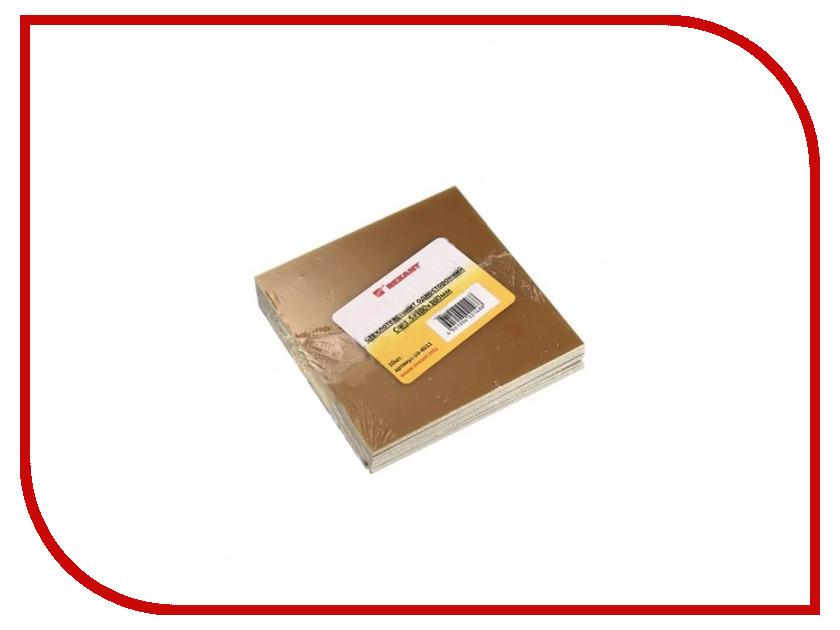 Стеклотекстолит односторонний Rexant СФ 1.5x100x100mm 10шт 09-4011