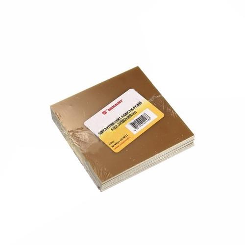 Стеклотекстолит односторонний Rexant СФ 1.5x100x100mm 10шт 09-4011 цена