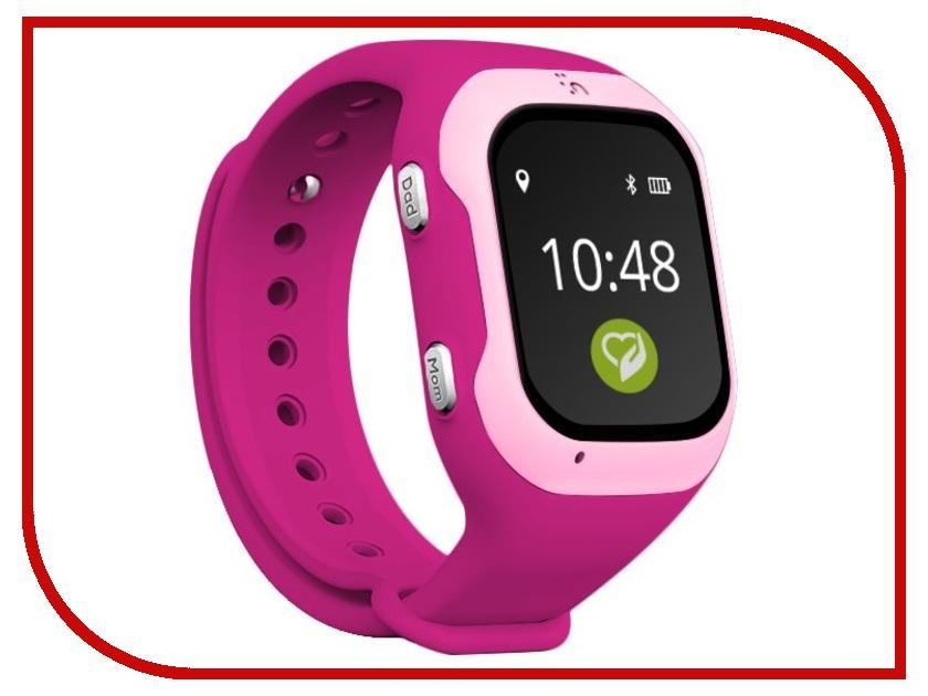 Умные часы Кнопка жизни К917 Pink