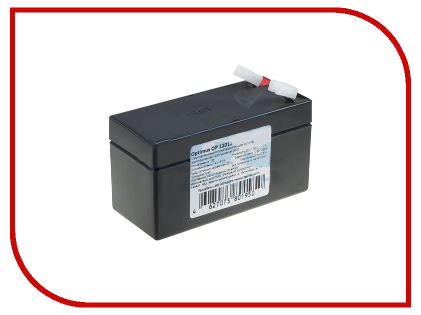 Аккумулятор Rexant 12V 1.2Ah 30-2012-4