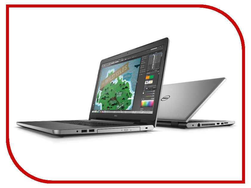 Ноутбук Dell Inspiron 5759 5759-0261 (Intel Pentium 4405U 2.1 GHz/4096Mb/500Gb/DVD-RW/Intel HD Graphics/Wi-Fi/Bluetooth/Cam/17.3/1600x900/Linux)<br>
