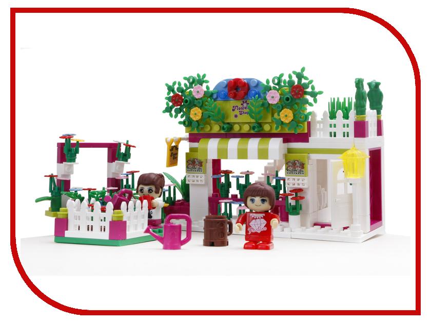 Конструктор BanBao Цветочный магазин 252 дет. 6116 интернет магазин вайкики распродажа