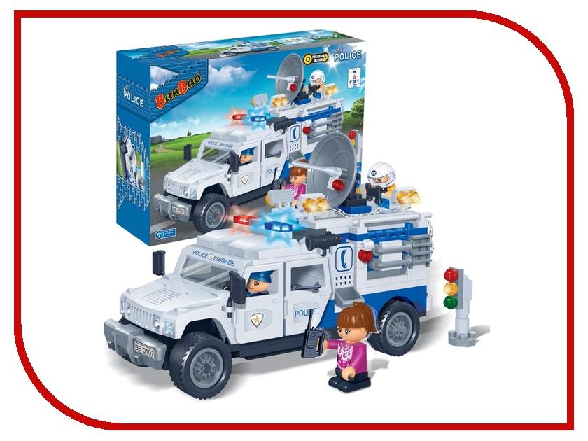 Игрушка BanBao Полицейский грузовик 290 дет. 8343<br>