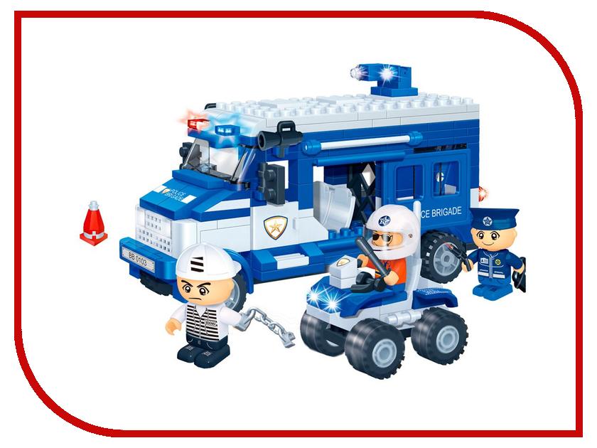 Конструктор BanBao Полицейская команда 250 дет. 8346 технопарк полицейская часть 30413