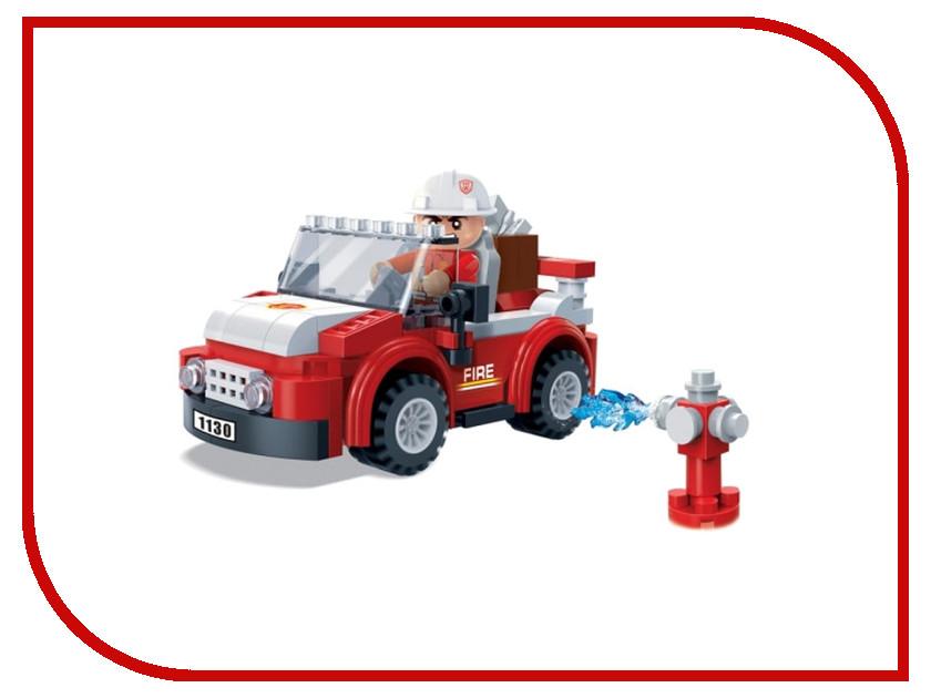 Игрушка BanBao Пожарный внедорожник 105 дет. 7117<br>