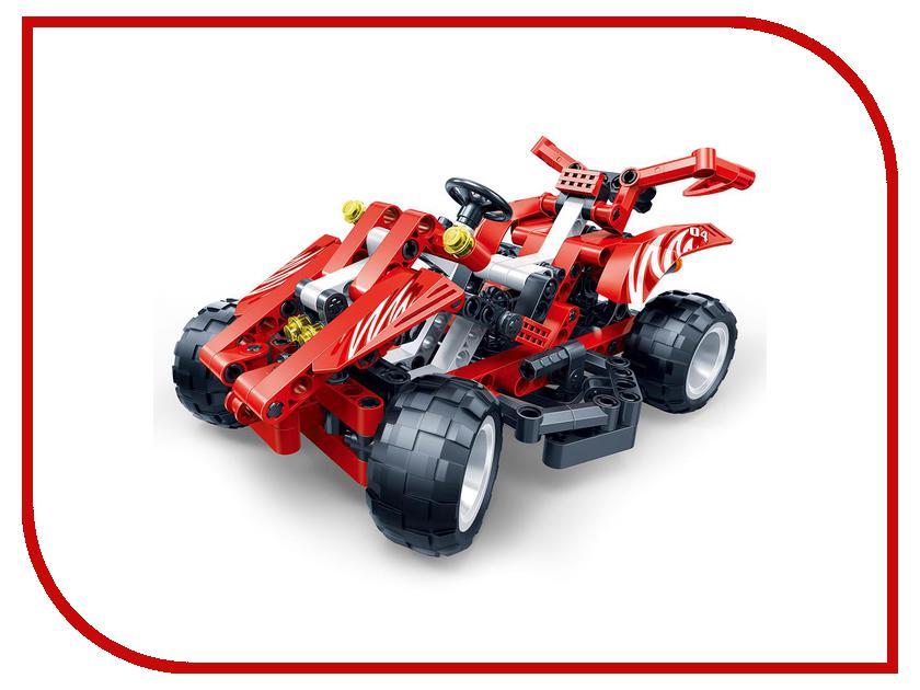 Игрушка BanBao Машина Red 250 дет. 6955<br>