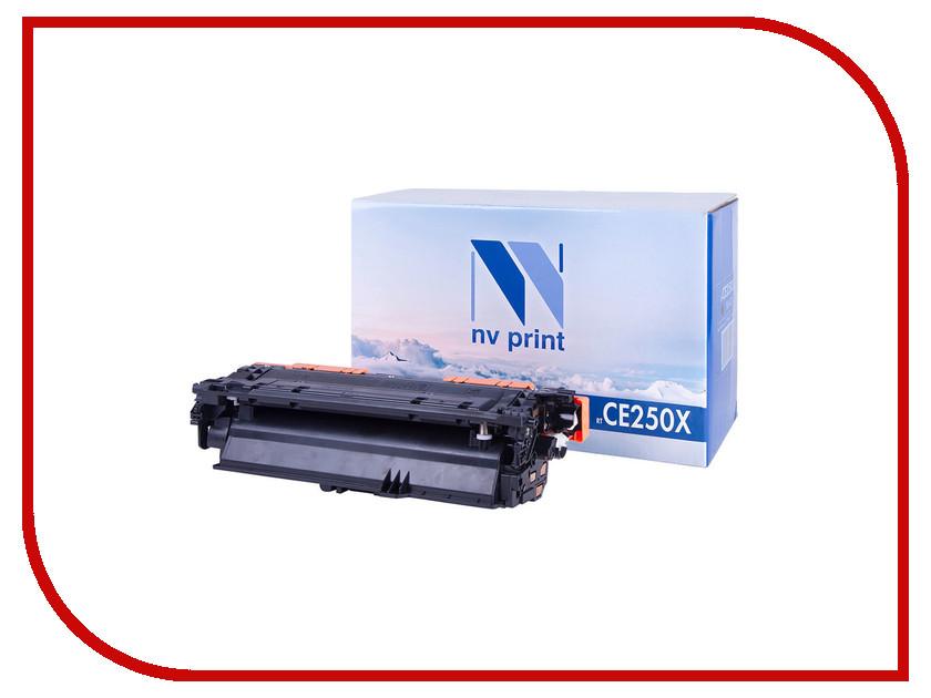 Картридж NV Print CE250X Black для LaserJet Color CP3525/CP3525dn/CP3525n/CP3525x/CM3530/CM3530fs/Canon i-SENSYS LBP7750Cdn<br>
