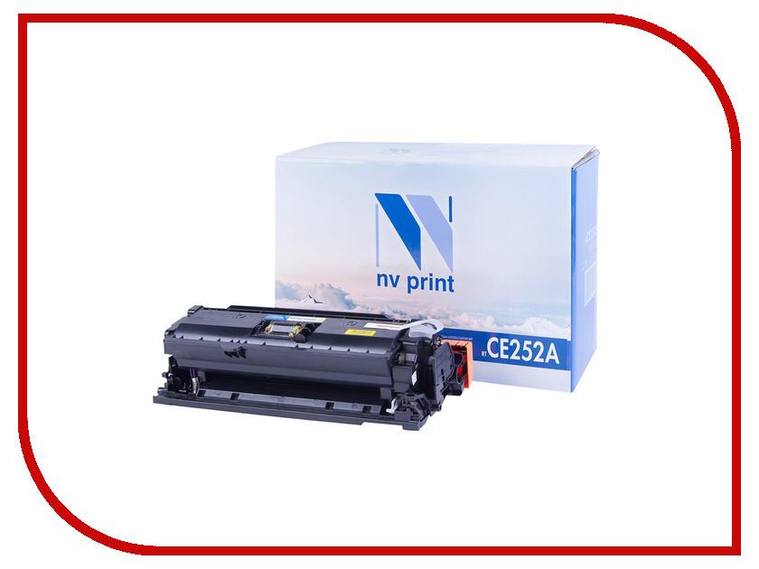 Картридж NV Print CE252A Yellow для LaserJet Color CP3525/CP3525dn/CP3525n/CP3525x/CM3530/CM3530fs/Canon i-SENSYS LBP7750Cdn<br>
