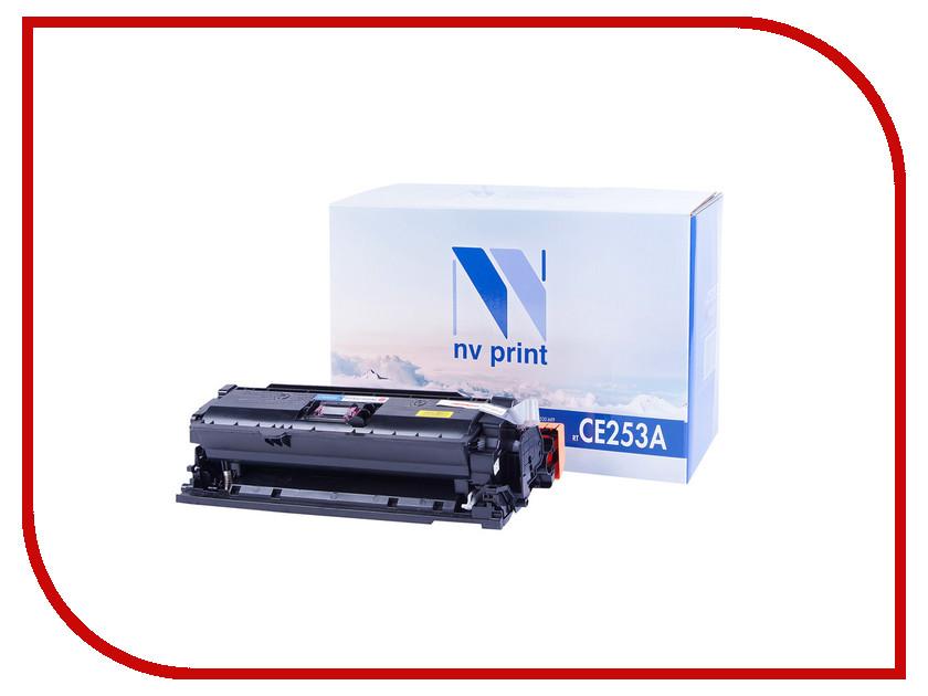 Картридж NV Print CE253A Magenta для LaserJet Color CP3525/CP3525dn/CP3525n/CP3525x/CM3530/CM3530fs/Canon i-SENSYS LBP7750Cdn<br>