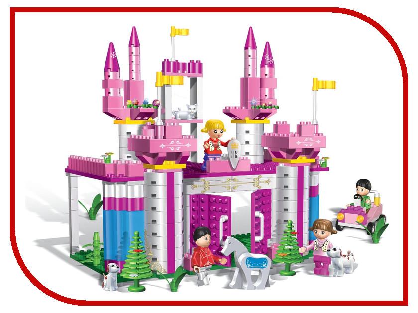 Игрушка BanBao Дворец с аксессуарами 380 дет. 6365<br>