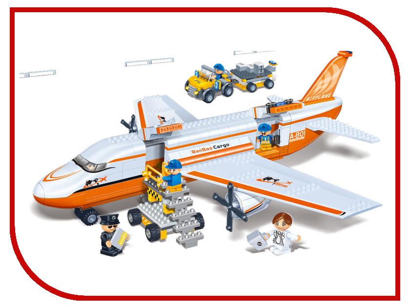 Конструктор BanBao Гражданская авиация 660 дет. 8281 конструктор banbao гражданская авиация от 5 лет 660 деталей 8281пц
