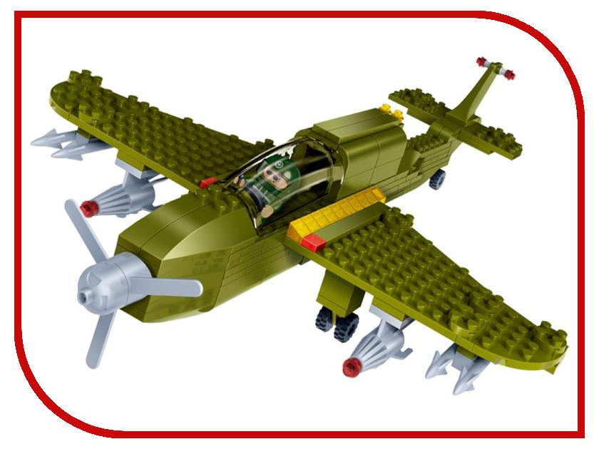 Игрушка BanBao Военный самолет 190 дет. 8244<br>