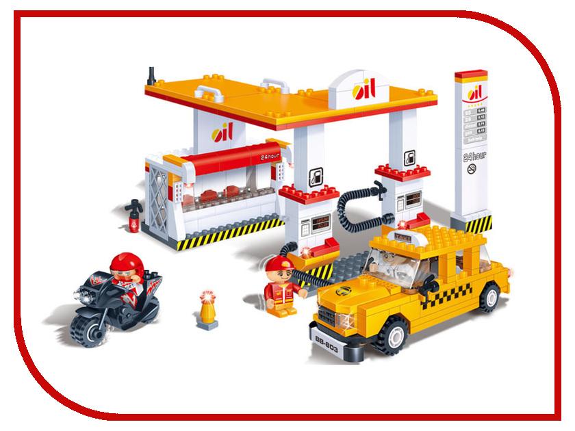 Конструктор BanBao Автозаправочная станция 282 дет. 8776