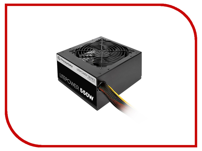 Блок питания Thermaltake Litepower 550W PS-LTP-0550NPCNEU-2 блок питания corsair rm550x 550w cp 9020090 eu
