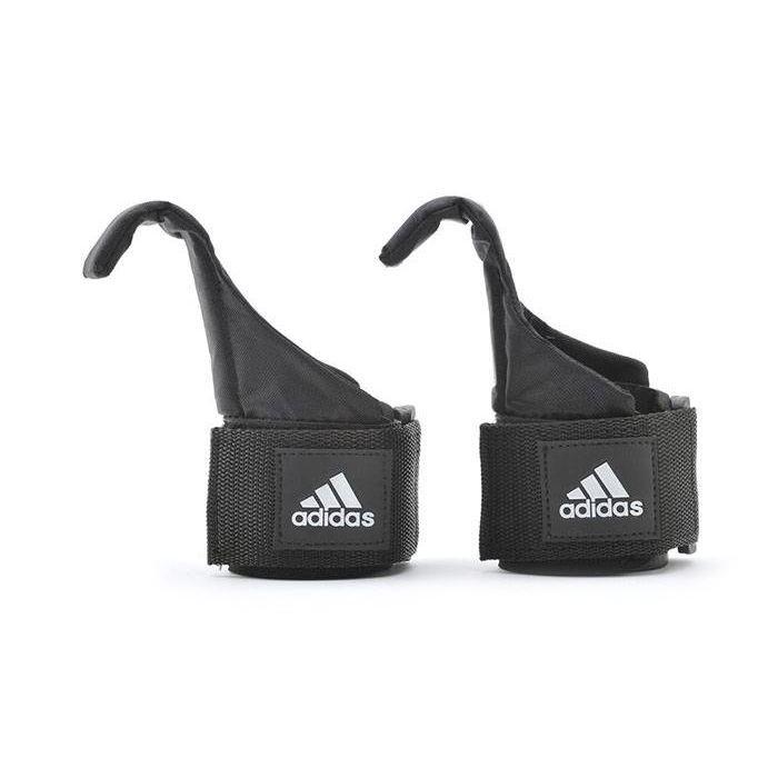 Ремень для тяги с крюком Adidas ADGB-12140 лямки для тяги с крюком