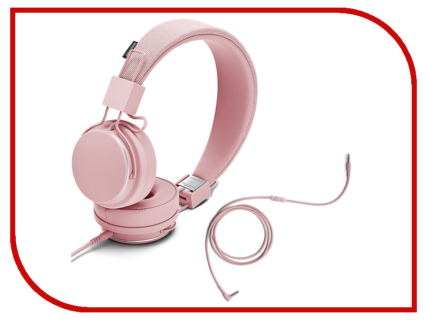 Гарнитура Urbanears Plattan II Powder Pink urbanears plattan adv wireless dark grey наушники
