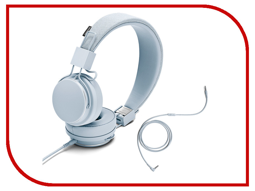 Гарнитура Urbanears Plattan II Snow Blue urbanears plattan adv wireless dark grey наушники