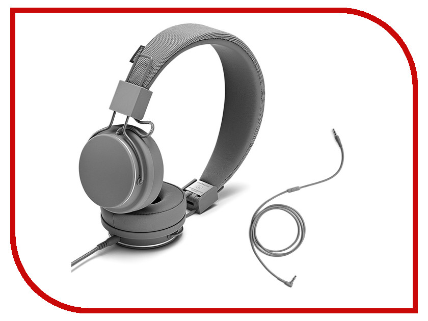 Гарнитура Urbanears Plattan II Dark Grey urbanears plattan adv wireless dark grey наушники