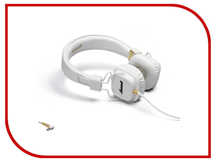Гарнитура Marshall Major II Bluetooth White гарнитура devia smart bluetooth 4 1 headset white