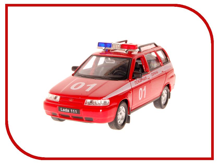Игрушка AUTOTIME Лада 111 пожарная охрана 2664W-RUS