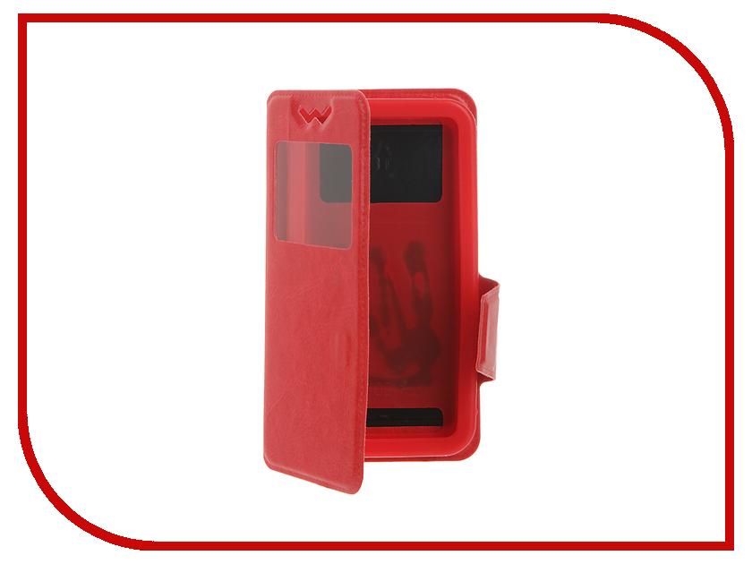 Аксессуар Чехол Pulsar Silicone Slide 4.2-4.5-inch универсальный Red PSY002<br>