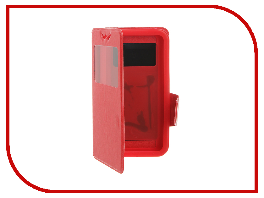 Аксессуар Чехол Pulsar Silicone Slide 4.9-5.2-inch универсальный Red PSY008<br>