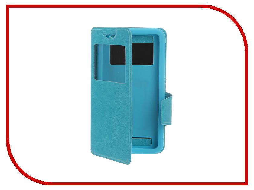 Аксессуар Чехол Pulsar Silicone Slide 4.9-5.2-inch универсальный Blue PSY009