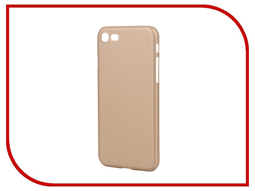 Аксессуар Чехол-накладка Pulsar Clipcase PC Soft-Touch для iPhone 7 Gold PCC0238<br>