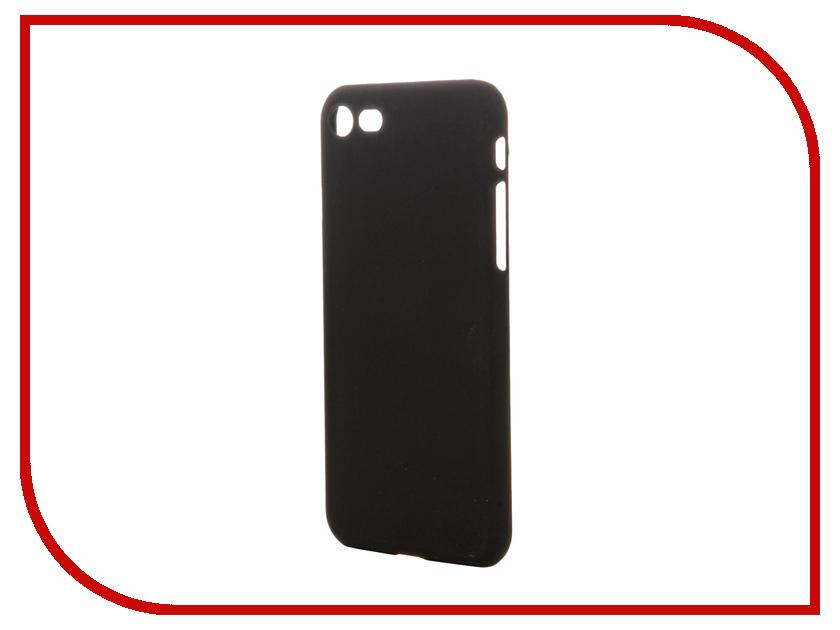 Аксессуар Чехол-накладка Pulsar Clipcase PC Soft-Touch для iPhone 7 Black PCC0225<br>