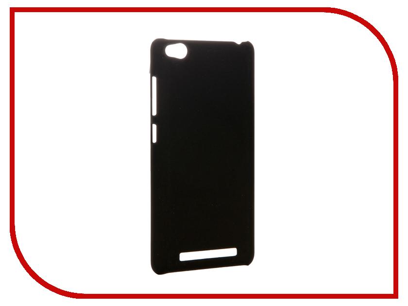Аксессуар Чехол-накладка Xiaomi Redmi 3 Pulsar Clipcase PC Soft-Touch Black PCC0234<br>