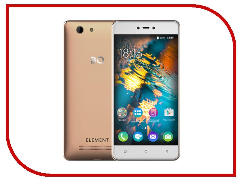 Сотовый телефон BQ 5032 Element Gold<br>