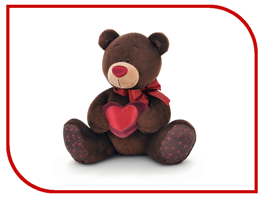 Игрушка Orange Toys Choco Медведь мальчик с сердцем 30cm 78303 C003/30<br>