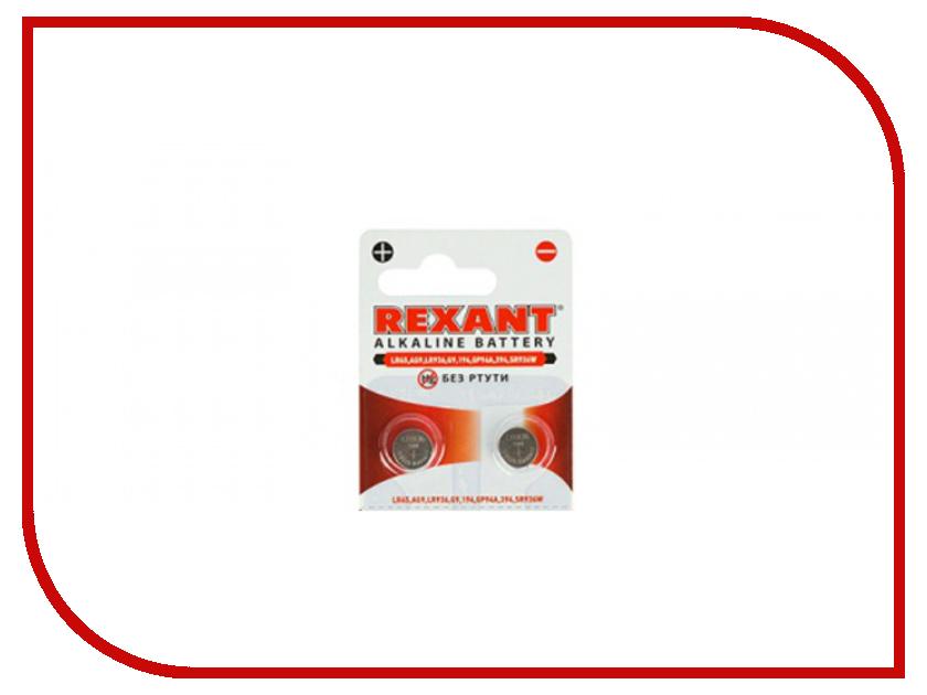 Батарейка Rexant LR45/AG9/LR936/G9/194/GP94A/394/SR936W 30-1032 (2 штуки) стайлер lira lr 0802