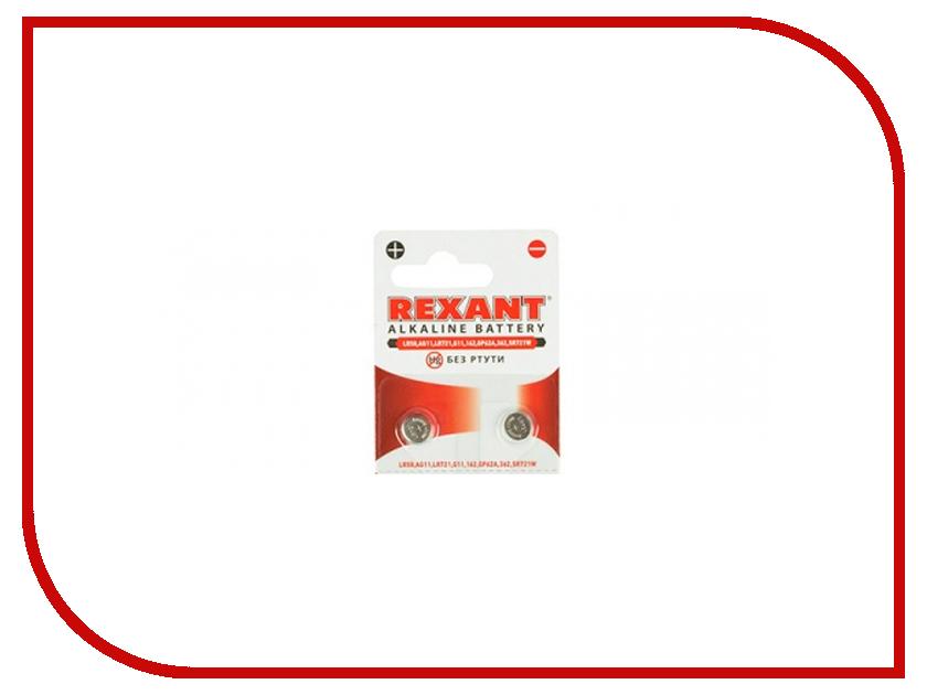 Батарейка Rexant LR58/AG11/LR721/G11/162/GP62A/362/SR721W 30-1030 (10 штук)<br>