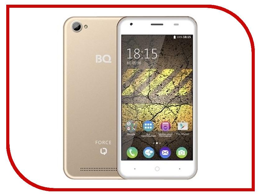 Сотовый телефон BQ BQS-5040 Force Champagne телефон bq bqs 5003 colombo ii black