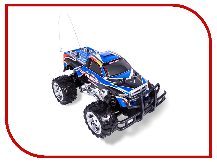Радиоуправляемая игрушка Mioshi Tech Monster Truck Blue<br>
