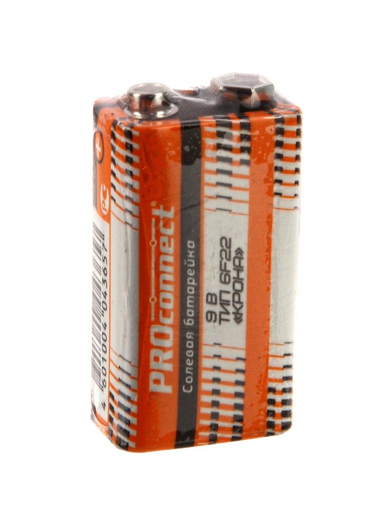 Батарейка КРОНА - ProConnect 9V 6F22 30-0030 (1 штука)