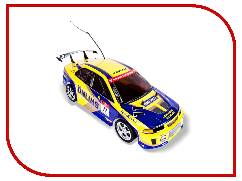 Игрушка Mioshi Tech On-Road Rally Racer Yellow-Blue 00000074475 mioshi автомобиль on road rally racer на р у красный mioshi tech
