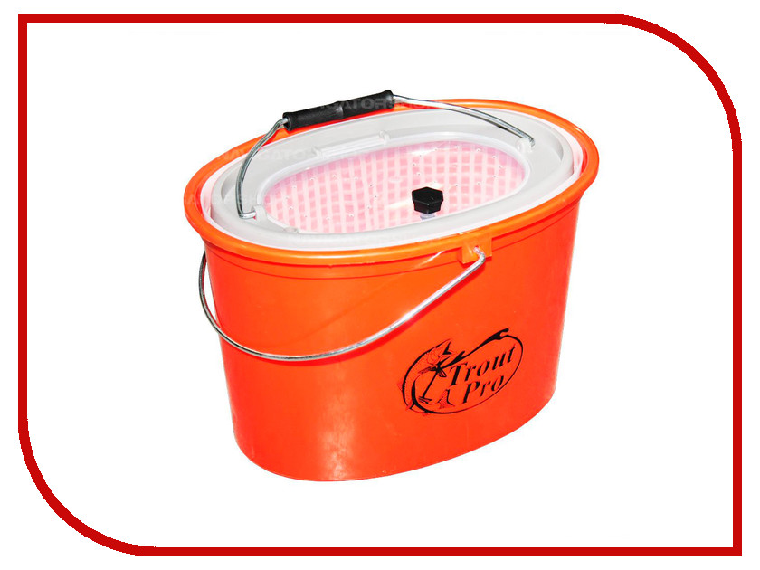Аксессуар Trout Pro 5L Orange XHS-325 кан для живца<br>