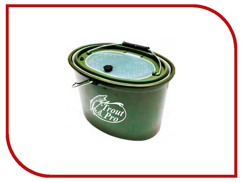 Аксессуар Trout Pro 5L Green XHS-325 кан для живца