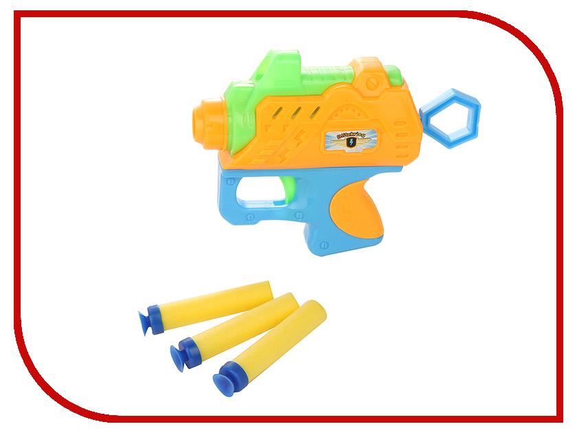 Игрушка S+S toys Пистолет с присосками 96966<br>