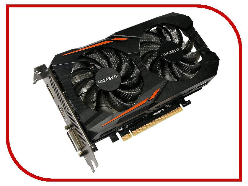 Видеокарта GigaByte GeForce GTX 1050 1379Mhz PCI-E 3.0 2048Mb 7008Mhz 128 bit DVI HDMI HDCP OC GV-N1050OC-2GD свеча зажигания ngk 4511