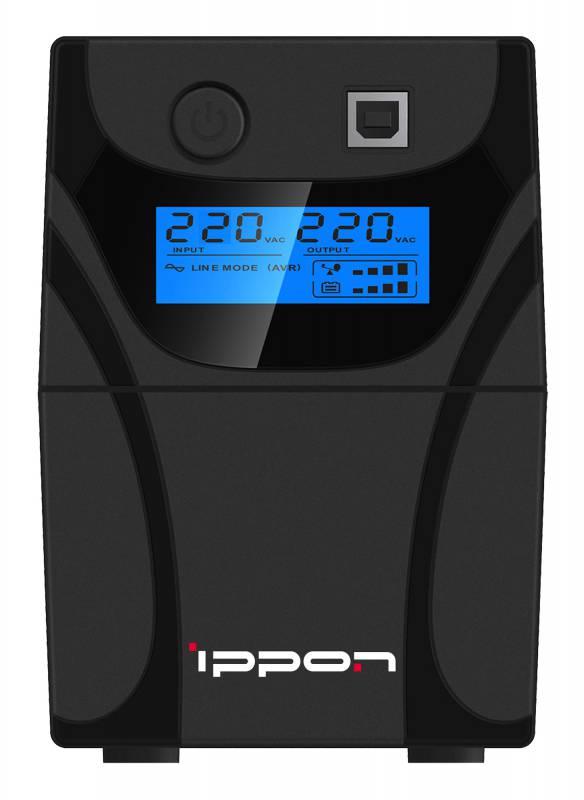 Источник бесперебойного питания Ippon Back Power Pro LCD 400 цена и фото