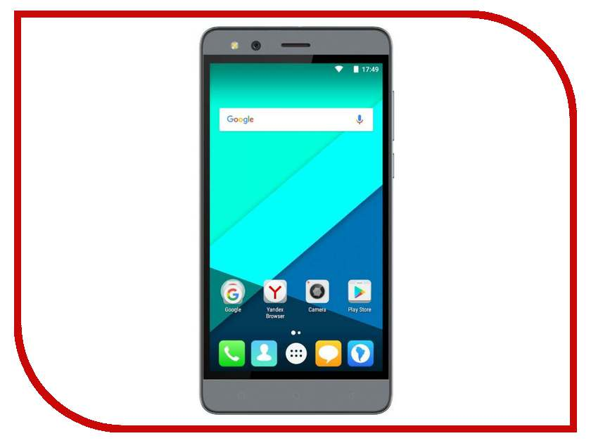 Сотовый телефон Micromax Q397 Space Grey micromax x907 grey