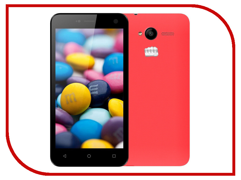 Сотовый телефон Micromax Bolt Q341 Red<br>