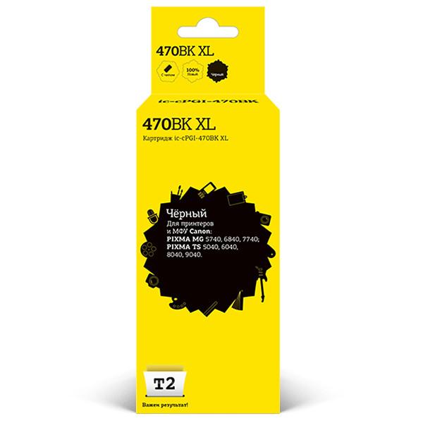 Картридж T2 IC-CPGI-470BK XL для Canon PIXMA MG5740/6840/7740/TS5040/6040/8040 Black